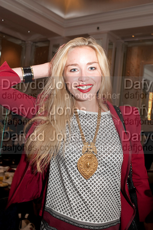 NOELLE RENO, Stephen Webster hosted  the Stephen Webster Bijoux Tea.  Launching the  tea  inspired by StephenÕs most recent fine jewellery collection ÔMurder She WroteÕ whichwas also on display. Langham Hotel. Portland Place. London. 14 September 2011. <br /> <br />  , -DO NOT ARCHIVE-© Copyright Photograph by Dafydd Jones. 248 Clapham Rd. London SW9 0PZ. Tel 0207 820 0771. www.dafjones.com.<br /> NOELLE RENO, Stephen Webster hosted  the Stephen Webster Bijoux Tea.  Launching the  tea  inspired by Stephen's most recent fine jewellery collection 'Murder She Wrote' whichwas also on display. Langham Hotel. Portland Place. London. 14 September 2011. <br /> <br />  , -DO NOT ARCHIVE-© Copyright Photograph by Dafydd Jones. 248 Clapham Rd. London SW9 0PZ. Tel 0207 820 0771. www.dafjones.com.