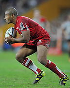 Will Genia retrieves the loose ball for the Reds ~ Super 15 rugby (Round 15) - Reds v Crusaders played at Suncorp Stadium, Brisbane, Australia on Sunday 29th May 2011 ~ Photo : Steven Hight (AURA Images) / Photosport