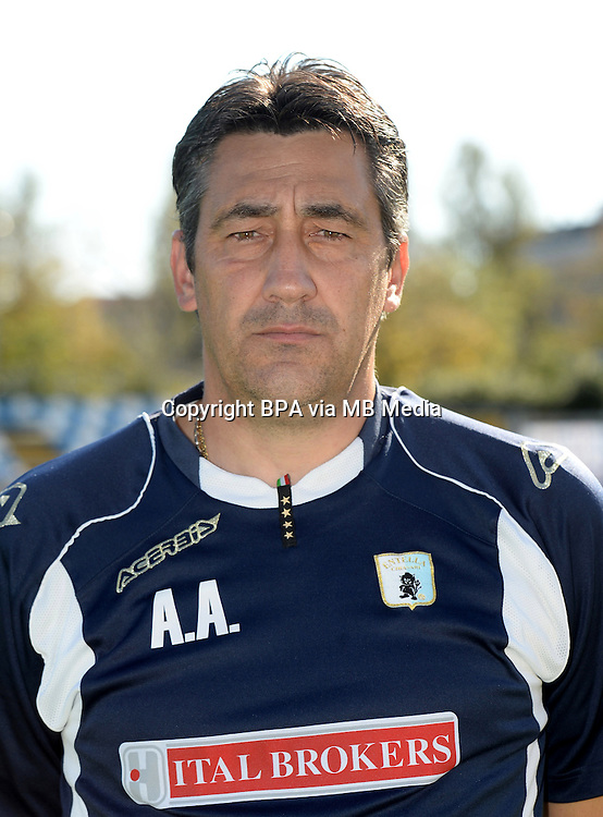 Italian League Serie B_2015-2016 / <br /> ( Virtus Entella Chiavari ) - <br /> Alfredo Aglietti - DT Virtus Entella