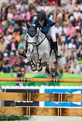 Athina Onassis De Miranda, (GRE), AD Camille Z - Team & Individual Competition Jumping Speed - Alltech FEI World Equestrian Games™ 2014 - Normandy, France.<br /> © Hippo Foto Team - Leanjo De Koster<br /> 02-09-14