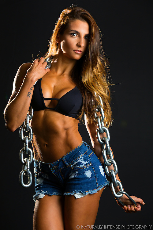 Thalita Pascual Bikini Pro In Chains Fitness Photo Shoot- New York City