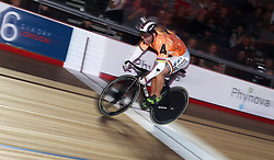 Germany's Robert Forstemann in the Men's 200m Flying Time Trial during day six of the Six Day Series at Lee Valley Velopark, London