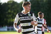 Forest Green Rovers Charlie Cooper(20) during the Pre-Season Friendly match between Shortwood United and Forest Green Rovers at Meadowbank Ground, Nailsworth, United Kingdom on 14 July 2017. Photo by Shane Healey.
