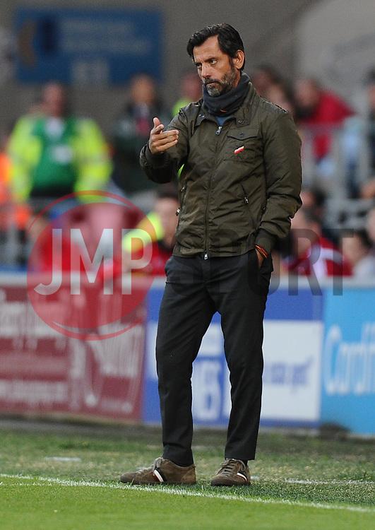 Watford Manager, Enrique Sanchez Flores  - Mandatory by-line: Joe Meredith/JMP - 07966386802 - 28/07/2015 - SPORT - FOOTBALL - Cardiff,Wales - Cardiff City Stadium - Cardiff City v Watford - Pre-Season Friendly