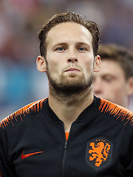 Daley Blind of Holland during the UEFA Nations League A group 1 qualifying match between France and The Netherlands on September 09, 2018 at Stade de France in Saint Denis,  France