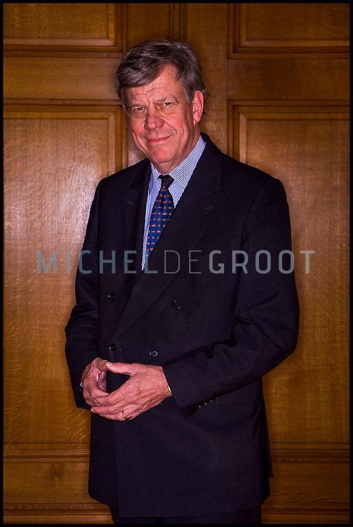 Ivo Opstelten, burgemeester van Rotterdam in Rotterdam, The Netherlands on 02 October, 2008.  (Photo by Michel de Groot)
