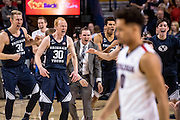 Gonzaga fell to BYU on Senior Night. (Photos by Edward Bell and Zack Berlat)