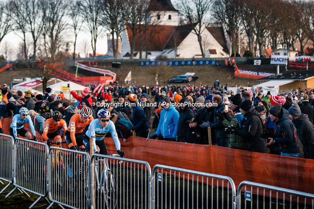 Wout van Aert, 2019 Men Elite UCI Cyclo-cross World Championships at Bogense, Denmark, 3 Februari 2019. Photo by Pim Nijland / PelotonPhotos.com | All photos usage must carry mandatory copyright credit (Peloton Photos | Pim Nijland)