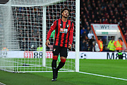 Arnaut Danjuma (14) of AFC Bournemouth reacts after missing a goal scoring change during the Premier League match between Bournemouth and Liverpool at the Vitality Stadium, Bournemouth, England on 7 December 2019.