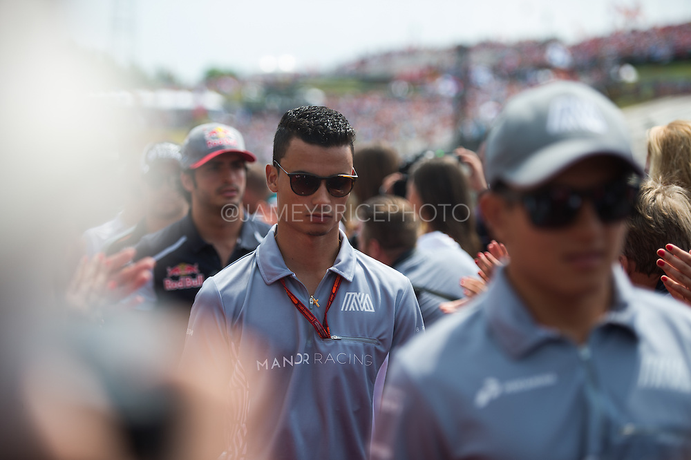 July 21-24, 2016 - Hungarian GP, Pascal Wehrlein (GER), Manor