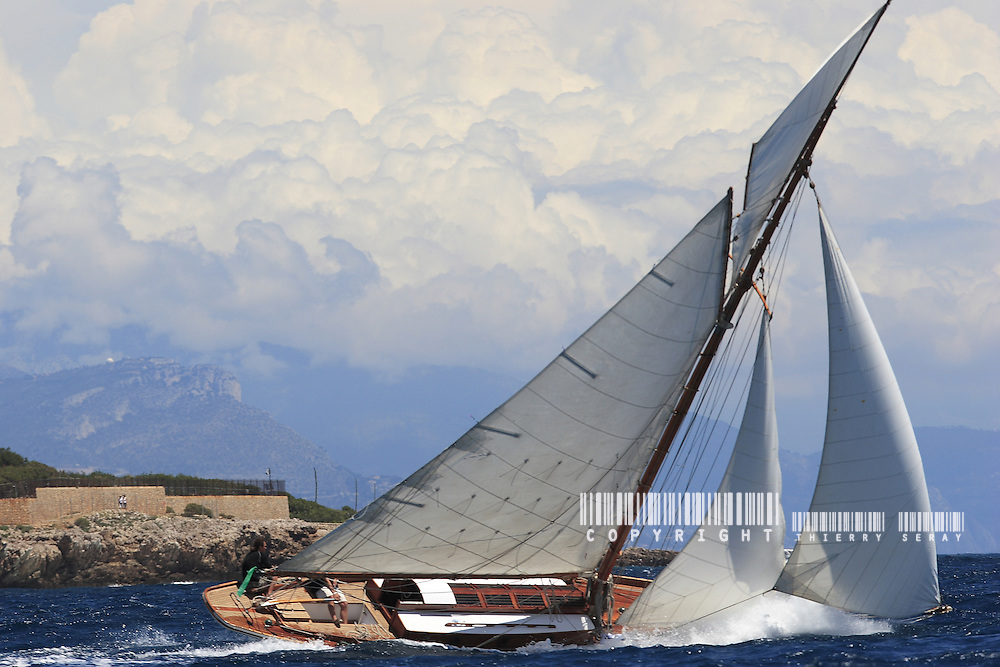 illustration.Voiles d'Antibes 2007.