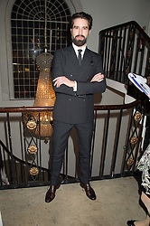 JACK GUINNESS at a gala dinner to celebrate 15 Years of mothers2mothers hosted by Annie Lennox held at One Marylebone, 1 Marylebone Road, London NW1on 3rd November 2015.