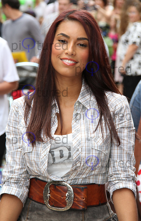 Chantelle Tagoe Toy Story 3 UK Premiere held at the Empire Cinema, Leicester Square, London, UK, 18 July 2010: For piQtured Sales contact: Ian@Piqtured.com +44(0)791 626 2580 (Picture by Richard Goldschmidt/Piqtured)