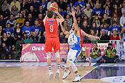 DESCRIZIONE : Campionato 2015/16 Serie A Beko Dinamo Banco di Sardegna Sassari - Grissin Bon Reggio Emilia<br /> GIOCATORE : Andrea De Nicolao<br /> CATEGORIA : Tiro Tre Punti Three Point Controcampo<br /> SQUADRA : Grissin Bon Reggio Emilia<br /> EVENTO : LegaBasket Serie A Beko 2015/2016<br /> GARA : Dinamo Banco di Sardegna Sassari - Grissin Bon Reggio Emilia<br /> DATA : 23/12/2015<br /> SPORT : Pallacanestro <br /> AUTORE : Agenzia Ciamillo-Castoria/L.Canu