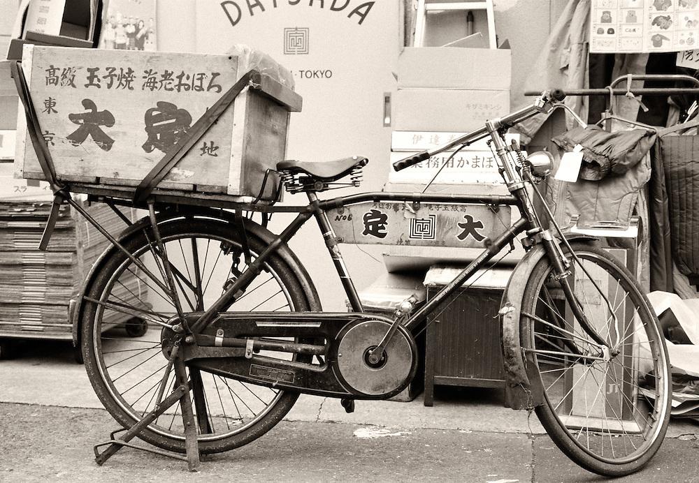 Vélo à Tokyo, Japon