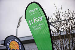 Wiser sponsor flags - Mandatory by-line: Dougie Allward/JMP - 23/02/2020 - RUGBY - Sandy Park - Exeter, England - Exeter Chiefs v Northampton Saints - Gallagher Premiership Rugby