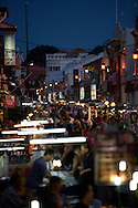 Jonker St Market. The stree is pedestrian only Friday and Saturday nights