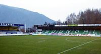 Fotball, 21. april 2002. Tippeligaen, Sogndal v  Start 0-0. Fosshaugane stadion. SIL.