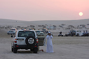 Favourite Friday night pastime: dune bashing in the desert near the Saudi border.
