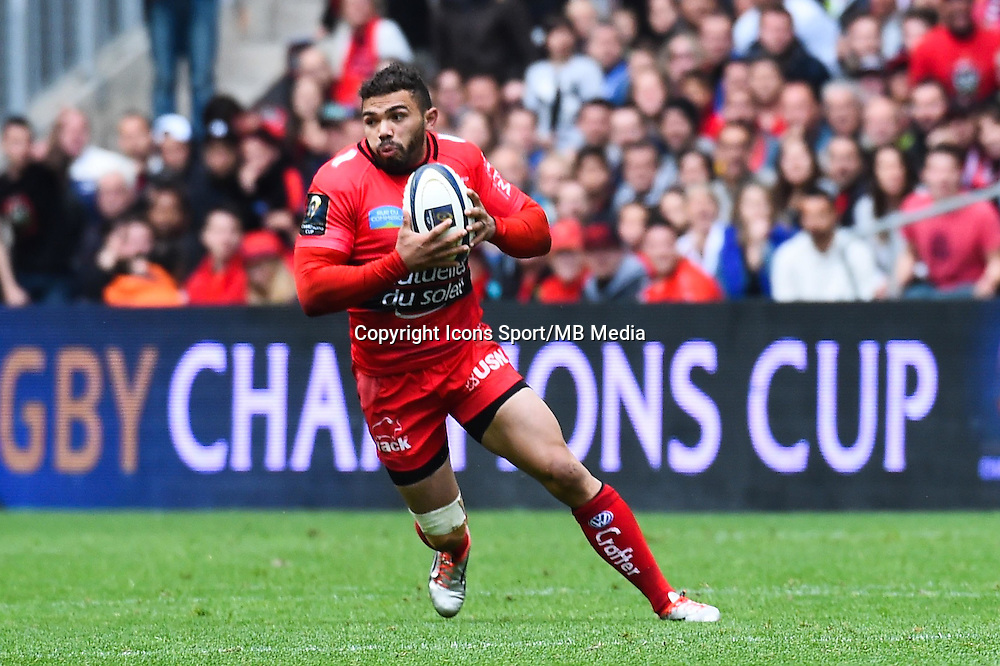 Bryan Habana - 19.04.2015 - Toulon / Leinster - 1/2Finale European Champions Cup -Marseille<br />