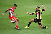 Phoenix player David Williams during their Hyundai A League match. Wellington Phoenix v Melbourne City FC. Westpac Stadium, Wellington, New Zealand. Saturday 26 January 2019. ©Copyright Photo: Chris Symes / www.photosport.nz