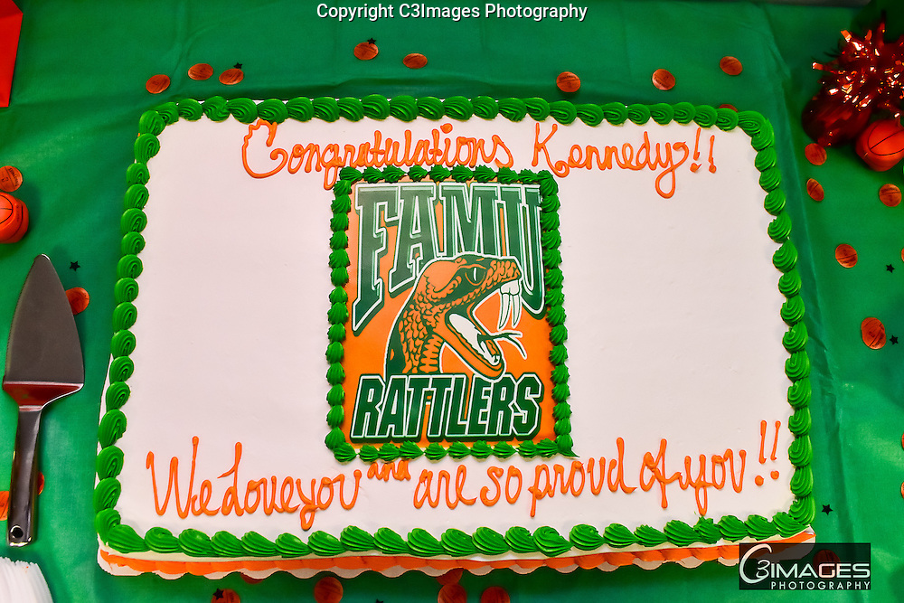 Kennedy Signs FAMU Basketball Scholarship