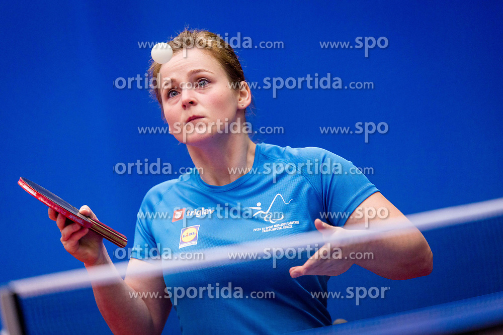 MEGLIC Barbara during day 3 of 15th EPINT tournament - European Table Tennis Championships for the Disabled 2017, at Arena Tri Lilije, Lasko, Slovenia, on September 30, 2017. Photo by Ziga Zupan / Sportida
