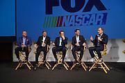 Nascar Media Tour held at the Nascar Hall of Fame in Charlotte, North Carolina.