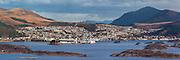 High resolution Panorama picture of Ulsteinvik, Norway   Høgoppløslig panoramabilde av Ulsteinvik.