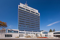 Architectural image of the Towson City Center building in Towson Maryland by Jeffrey Sauers of Commercial Photographics