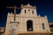The church of San German de Auxerre in San German Puerto Rico