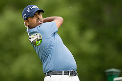May 30, 2019 - Dublin, OH, U.S. - DUBLIN, OH - MAY 30: Anirban Lahiri of India plays his shot from the 18th tee during the Memorial Tournament presented by Nationwide at Muirfield Village Golf Club on May 30, 2018 in Dublin, Ohio. (Photo by Adam Lacy/Icon Sportswire) (Credit Image: © Adam Lacy/Icon SMI via ZUMA Press)