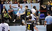 DESCRIZIONE : HandbaLL Cup Finale EHF Homme<br /> GIOCATORE : Jorge MAQUEDA PENO Thierry Anti<br /> SQUADRA : Nantes <br /> EVENTO : Coupe EHF Finale<br /> GARA : NANTES Rhein Neckar<br /> DATA : 19 05 2013<br /> CATEGORIA : Handball Homme<br /> SPORT : Handball<br /> AUTORE : JF Molliere <br /> Galleria : France Hand 2012-2013 Action<br /> Fotonotizia : HandbaLL Cup Finale EHF Homme<br /> Predefinita :