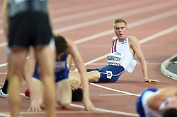 Filip Ingebrigtsen of Norway looks on after his bronze medal finish - Mandatory byline: Patrick Khachfe/JMP - 07966 386802 - 13/08/2017 - ATHLETICS - London Stadium - London, England - Men's 1500m Final - IAAF World Championships
