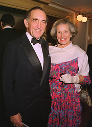 LORD & LADY GISBOROUGH at a show in London on 7th December 1998.   MMS 27