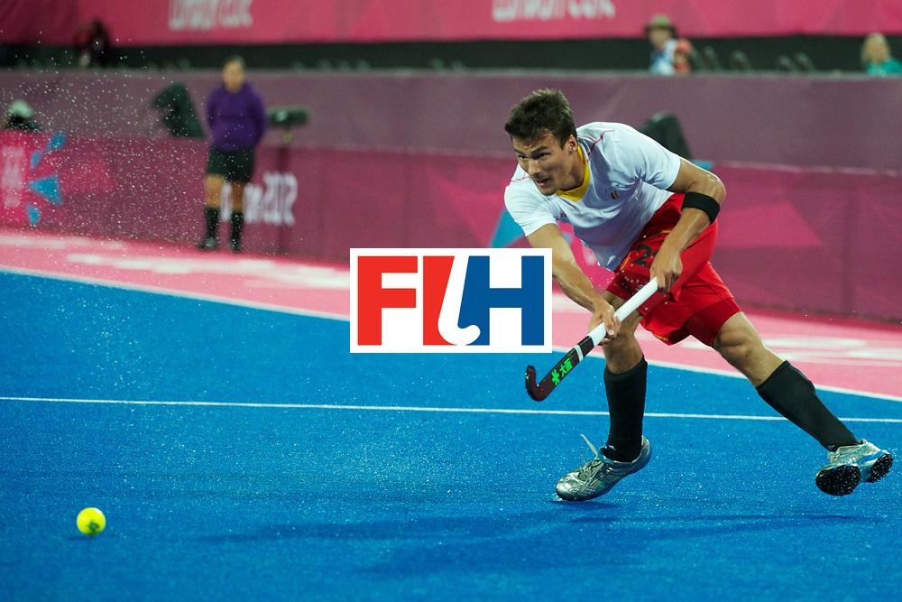 Olympics 2012, hockey, Simon Gougnard