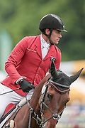 YOGI BEAR VIII ridden by Paul Tapner (Australia) competing in the show jumping at Bramham International Horse Trials 2016 at  at Bramham Park, Bramham, United Kingdom on 12 June 2016. Photo by Mark P Doherty.