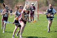 Lakes Region Lacrosse U13 girls versus Concord May 1, 2011.