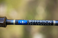 Spey rod from Jefferson Rod Company.
