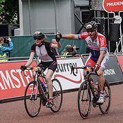 London, England, UK. 30th July 2017. Thousands attends to watch the Prudential RideLondon Classique starts/finishes on The Mall.