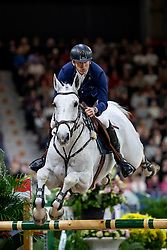 FREDRICSON Peder (SWE), Catch Me Not S<br /> Göteborg - Gothenburg Horse Show 2019 <br /> Longines FEI World Cup™ Jumping Final III - round B<br /> Int. jumping competition over two rounds not against the clock with jump-off in case of point egality (1.50 - 1.60 m)<br /> Longines FEI Jumping World Cup™ Final and FEI Dressage World Cup™ Final<br /> 06. April 2019<br /> © www.sportfotos-lafrentz.de/Stefan Lafrentz