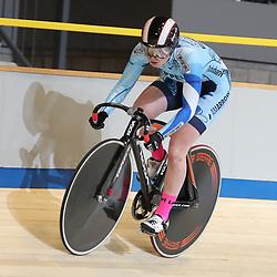 17-12-2016: Wielrennen: NK baanwielrennen: Apeldoorn       <br /> APELDOORN (NED) wielrennen   <br /> Steffie van der Peet in de kwalificatie 200 meter