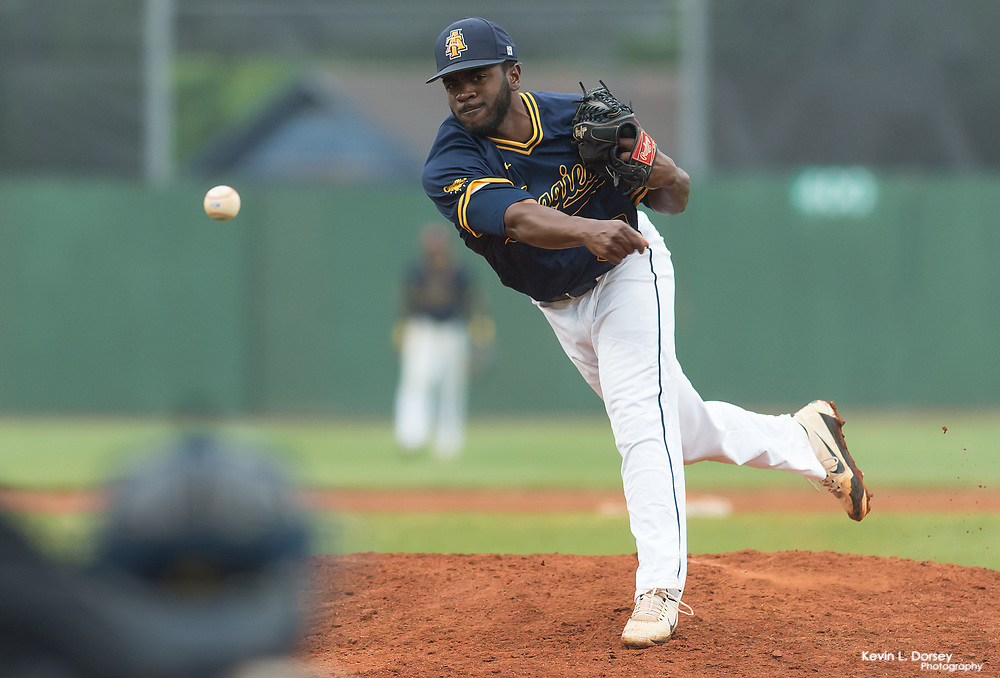 2017 A&T Baseball vs FAMU \ www.ncataggies.com - Photo by: Kevin L. Dorsey