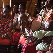 Midwifes are congregated to discuss issues with FGM, what the impact is on the girl/woman and how to stop the practise. Midwifes are often the women who perform the FGM in the Maasai community. S.A.F.E  works in the the Loita Hills to get rid of FGM through education and theatre plays.  The Stars Foundation visiting S.A.F.E in the Loita Hills near the Tanzanian border.