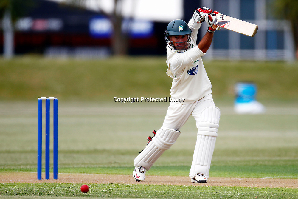 Centrals Kruger van Wik during the plunket shield cricket match between the Auckland Aces and the Central Stags. Domestic 4 day cricket. Colin Maiden Park, Auckland. 29 November 2011. Photo: William Booth/photosport.co.nz