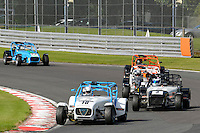 #10 Simon Cassidy Caterham Superlight R300-S during the BookaTrack.com Caterham Superlight R300 Championship at Oulton Park, Little Budworth, Cheshire, United Kingdom. August 13 2016. World Copyright Peter Taylor/PSP.