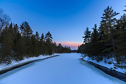 The East Branch of the Penobscot River in Maine's Katahdin Woods and Waters National Monument.