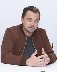 July 12, 2019 - Hollywood, California, USA - LEONARDO DICAPRIO promotes the movie 'Once Upon A Time in Hollywood' at the Four Season in Beverly Hills. (Credit Image: © Armando Gallo/ZUMA Studio)