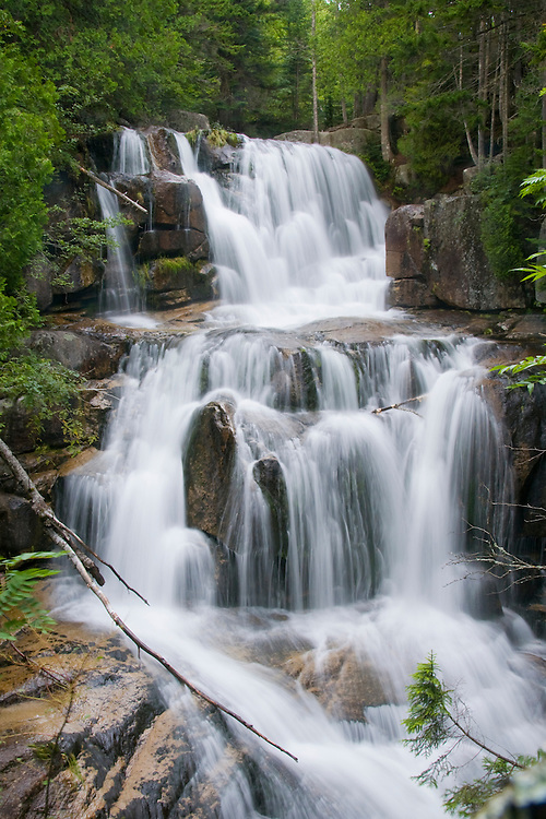 Waterfall at Baxter State Park, Maine (Katahdin Falls)