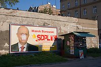 Poster for Marek Borowki SDPL party in Krakow Poland